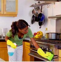 Nina from Geneva, Cleaning